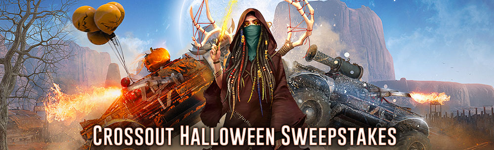 [Giveaway] Crossout Halloween