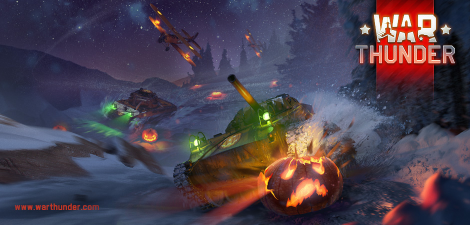 [EVENT] Halloween ve War Thunderu!